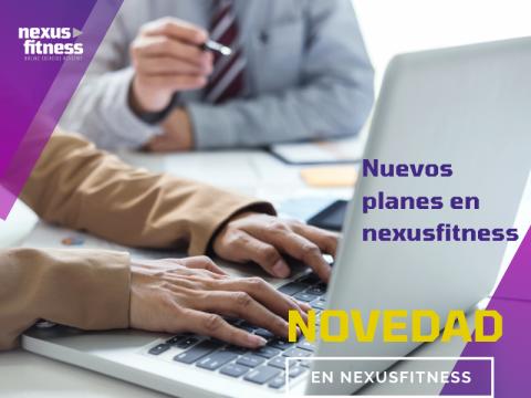Mejoras en la plataforma NexusFitness: Formación y creación de entrenamientos online